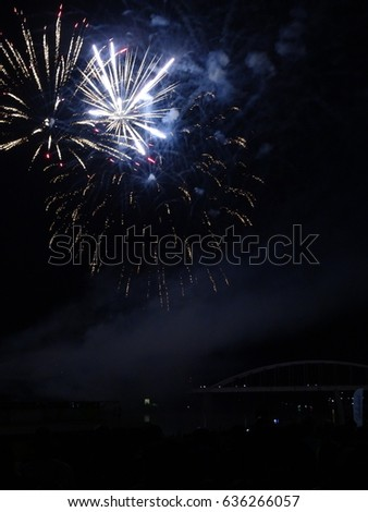 Fireworks, Hungarian national day