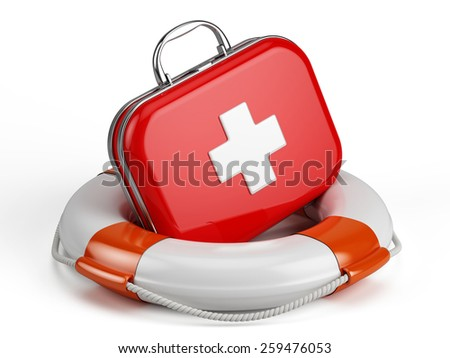 First Aid Kit and Life buoy