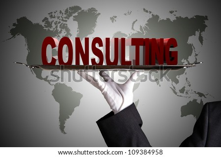 First Class Consulting - stock photo