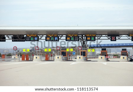 First Class Highway Toll/Payment Gate