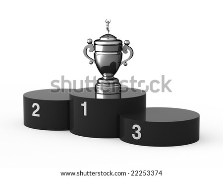 First place. - stock photo