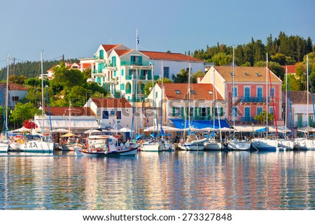 Fiscardo on the Island of Kefalonia
