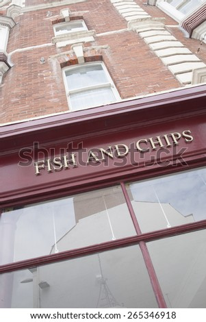 Fish and Chip Shop Sign