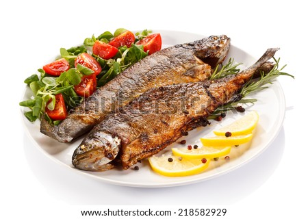side dishes for fish fish dish fried fish fillet vegetables stock photo edit 30441