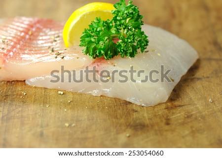 fish fillet - stock photo