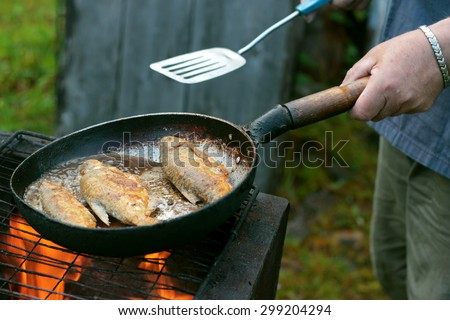 Fish fry stock images royalty free images vectors for Fish fry oil temp