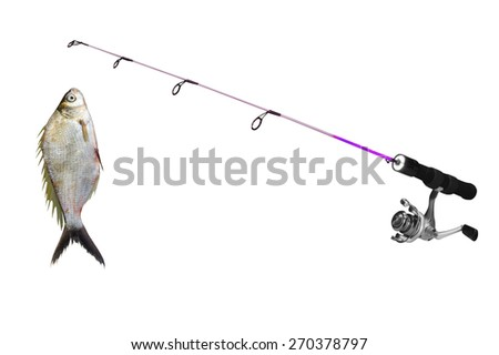 fishing-rod stock images, royalty-free images & vectors | shutterstock, Fishing Rod