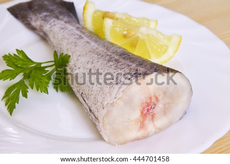 fish, pieces of hake