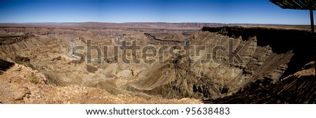 Fish River Canyon landscape