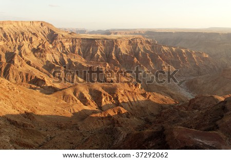 Fish River Canyon- the second largest canyon in the world, South Namibia, Africa