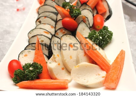 fish terrin - stock photo