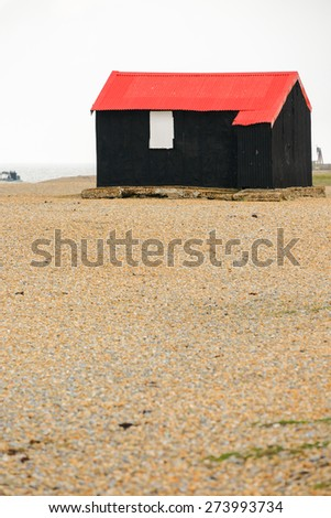 Fisherman's house, Withstable, London.  - stock photo