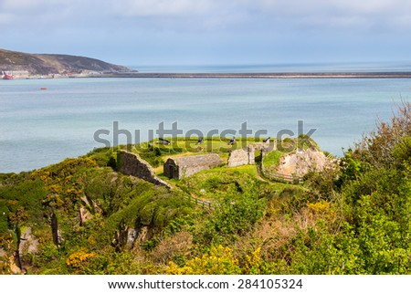 Fishguard Fort Pembrokeshire, south west Wales UK Europe