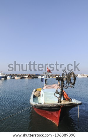 Fishing boat - stock photo