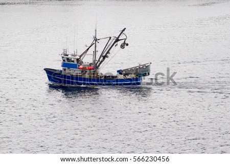 Fishing boat in Alaska
