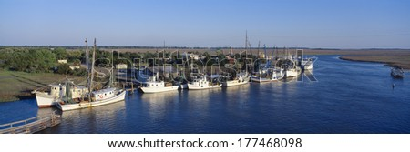 Intracoastal waterway stock images royalty free images vectors fishing boats in intercoastal waterway north carolina publicscrutiny Images
