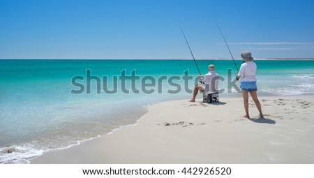 Fishing in western Australia
