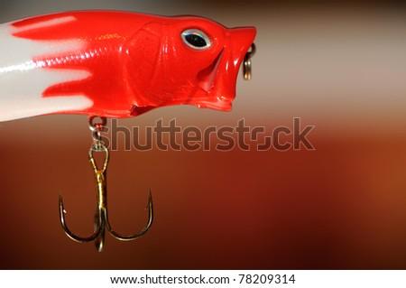 Fishing Lure (Wobbler Popper) - stock photo