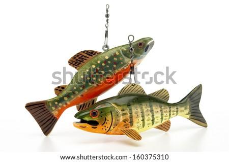 Fishing Lures - stock photo