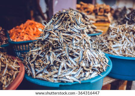 Fishing market in Sri Lanka