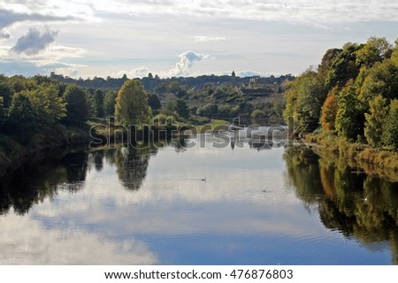 Fishing on the River Tweed near Coldstream - Scottish Borders
