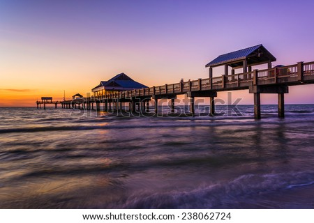 Clearwater florida stock photos images pictures for Clearwater fishing pier