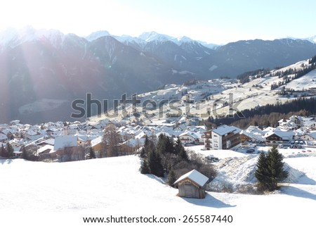 Fiss, Austria - stock photo