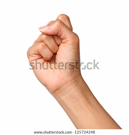 Fist,Hand - stock photo