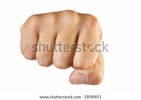 fist isolated