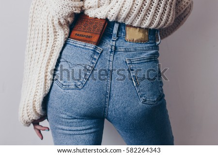 Hot Mature Ass In Jeans