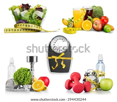 Fit, fitness, food. - stock photo