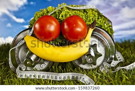 Fitness and health   - stock photo