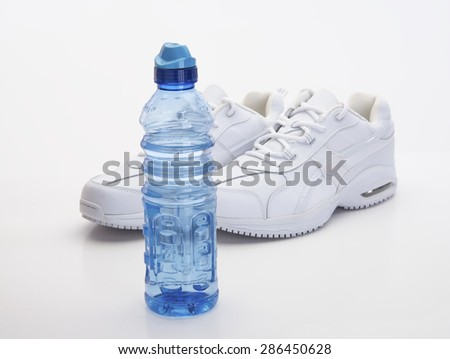 Fitness and sports equipment needed gear - stock photo