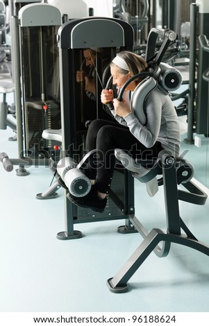 ab exercise machines stock photos images  pictures