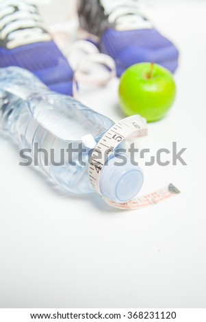 Fitness concept Health Weight  - stock photo