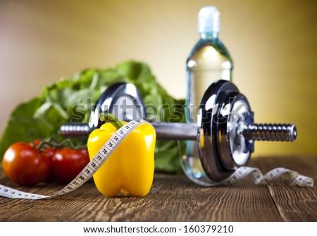 Fitness diet - stock photo