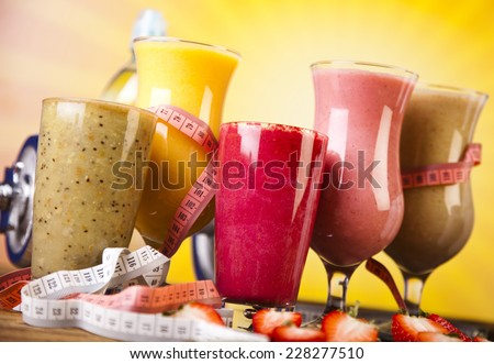 Fitness diet - stock photo