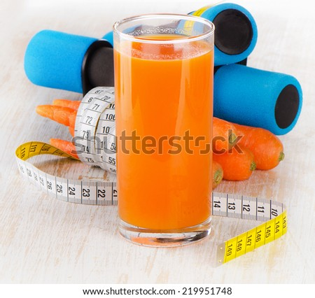 fitness equipment with fresh healthy food - health and diet concept. Selective focus