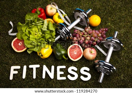 Fitness Food - stock photo