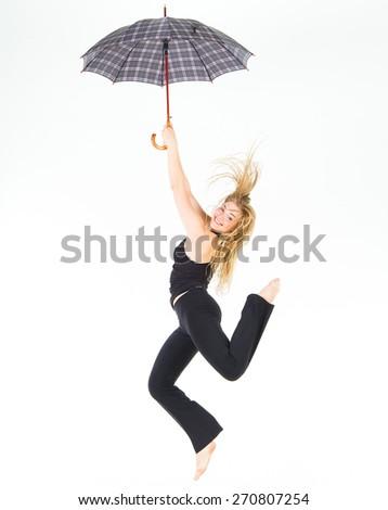 Fitness Joy Sporty Elegance  - stock photo