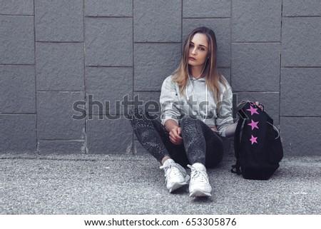 Urban teen models