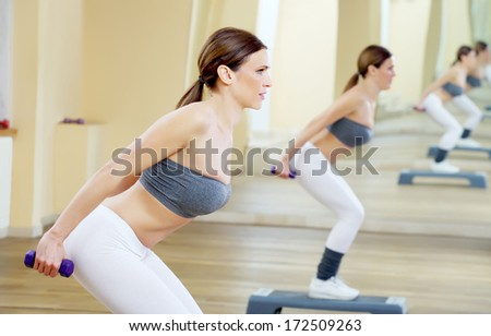 fitness with set of weights 2