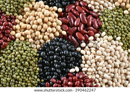 Five color bean for healthy