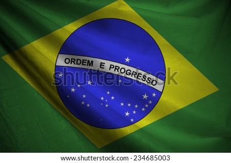 Flag of Brazil, Latin America