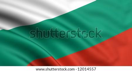 Flag Of Bulgaria - stock photo