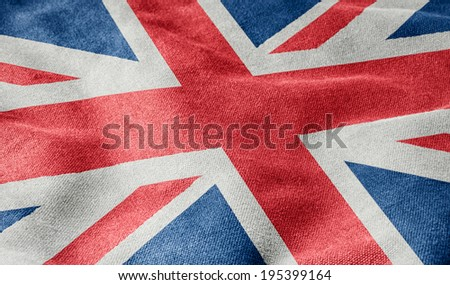 Flag of Great Britain - stock photo