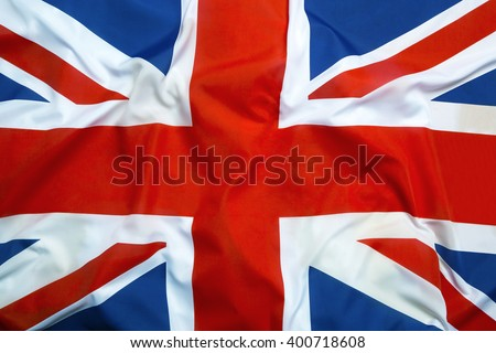 Flag of Great Britain as a background - stock photo