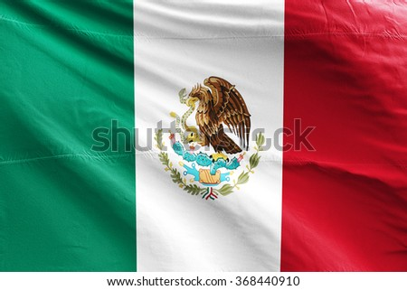 Flag of Mexico - stock photo