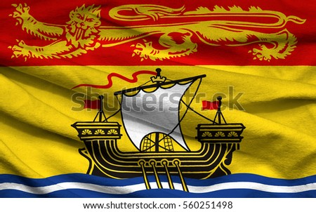 how to draw new brunswick flag