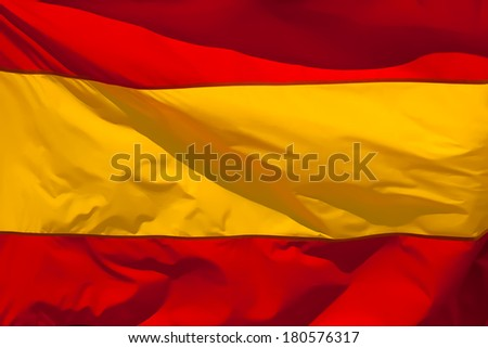 Flag of Spain. Abstract background.